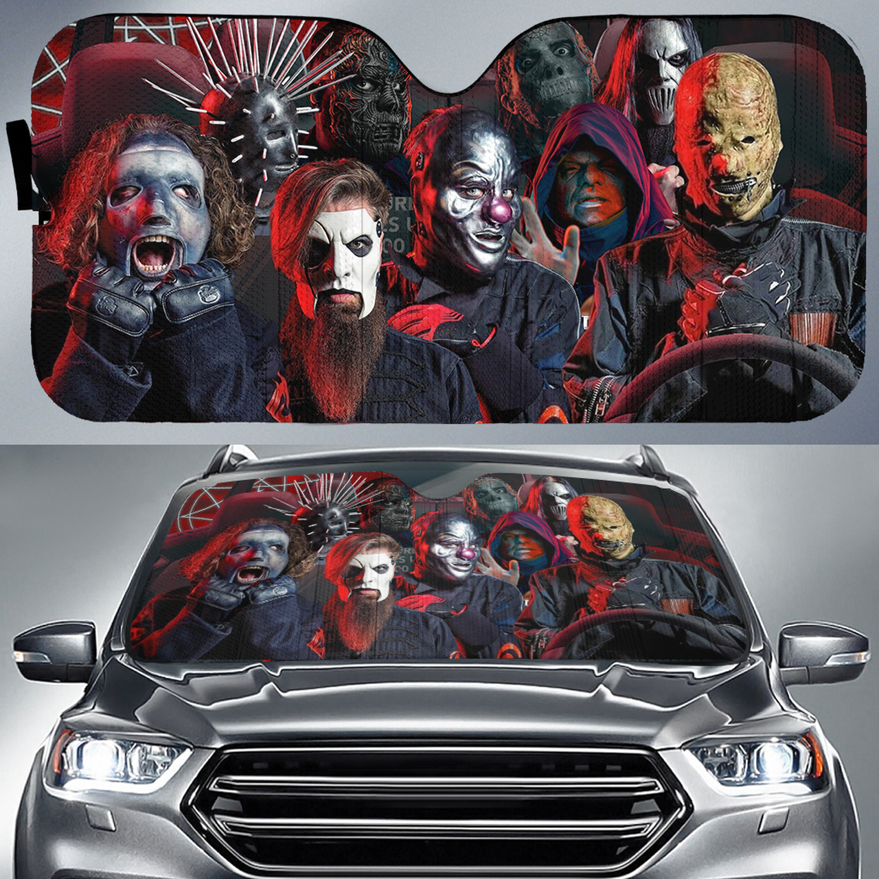[Car sunshade] slipknot